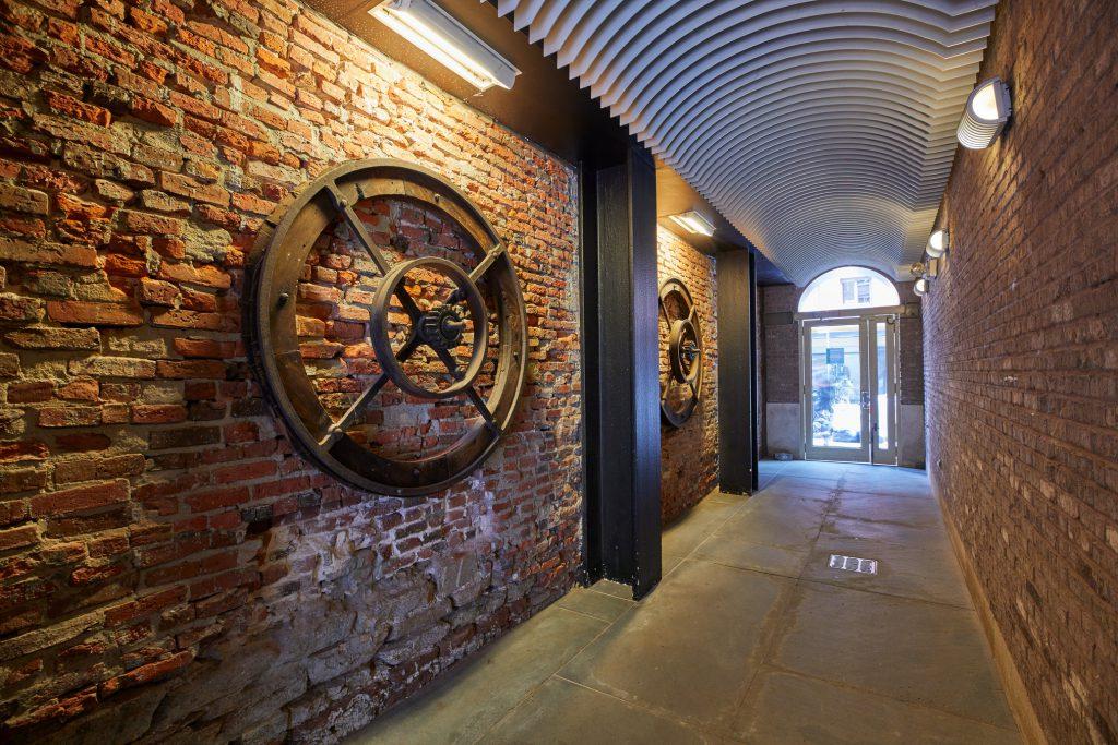 Lobby entrance hallway